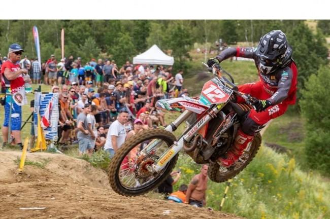 Max Nagl wint in Jinin, Tsjechië