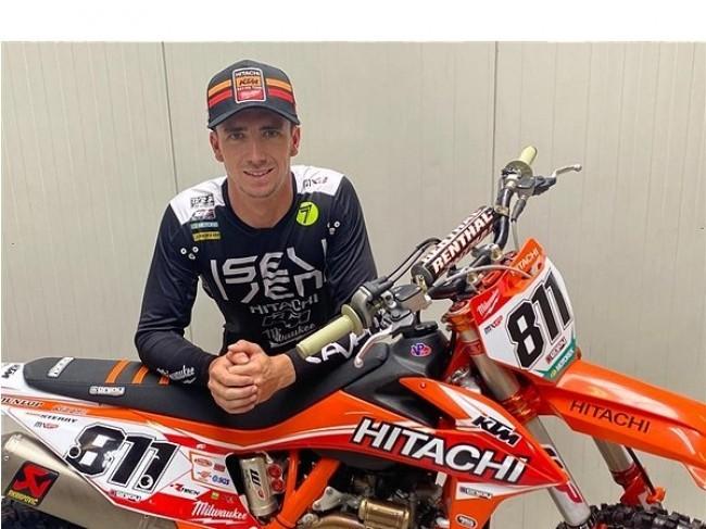 Adam Sterry officieel naar Hitachi KTM fuelled by Milwaukee