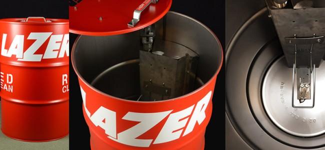 Lazer Helmets innoveert met RedClean ontsmetting !