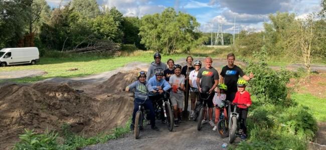 Steve Ramon bouwt mee aan BMX parcours!