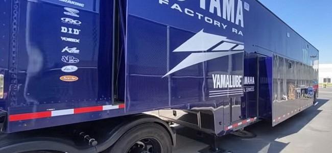 VIDEO: een kijkje in de truck van US Yamaha Factory Racing