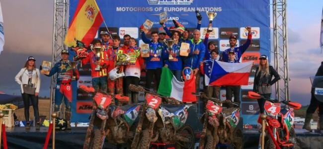 Geen European Motocross of Nations in 2020!