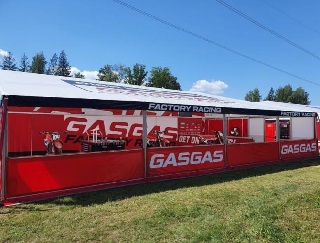 DIGA Procross GASGAS presenteert nieuwe setup in Kegums