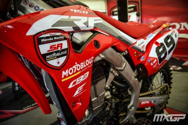 Van Berkel naar Team SR MotoBlouz Honda!