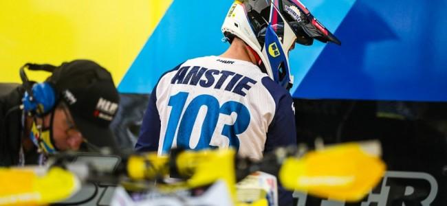Max Anstie mist start supercross seizoen!