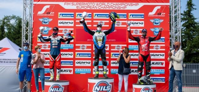 Monticelli wint, Kaivers op het S2-podium!
