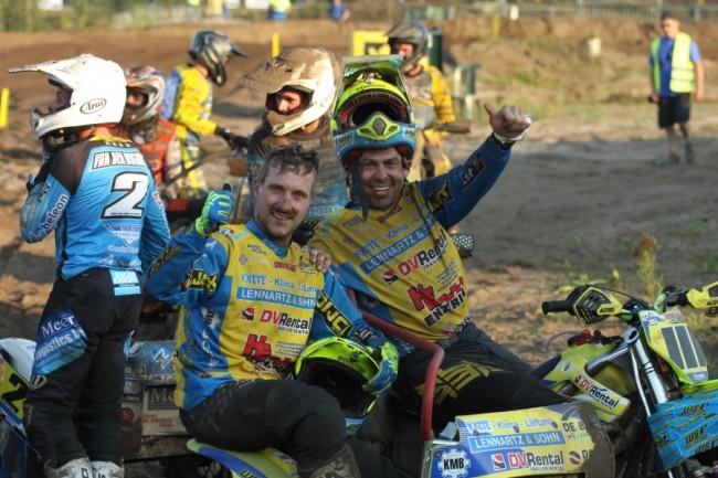 Willemsen/Bax oppermachtig tijdens ONK Sidecar Masters Berghem!