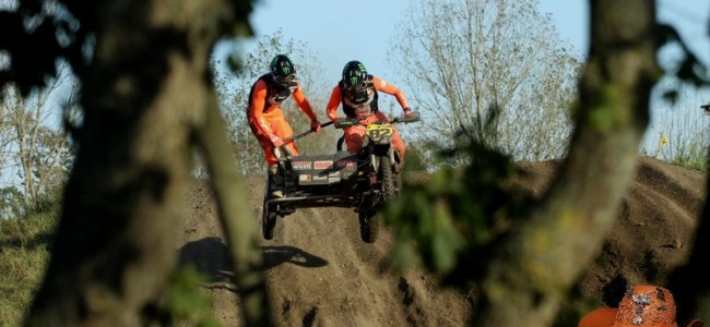 Bax/Musset winnen spectaculaire ONK Sidecar Masters te Oss!