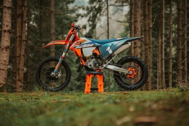 KTM introduceert de speciaal ontwikkelde 350 EXC-F WESS