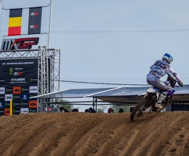 Geen tweede manche voor Cyril Genot, zijn motor is op!