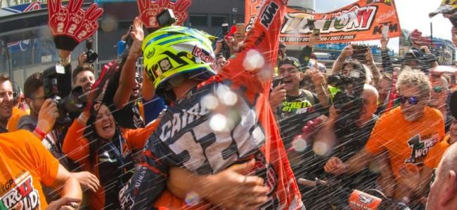 De Instagram GP-winnaar is Antonio Cairoli