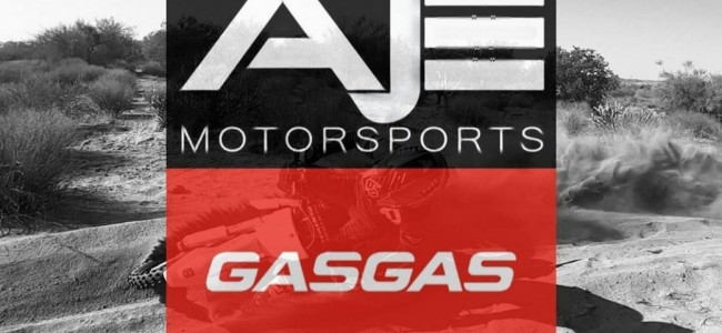 AJE Motorsports stapt over naar GasGas