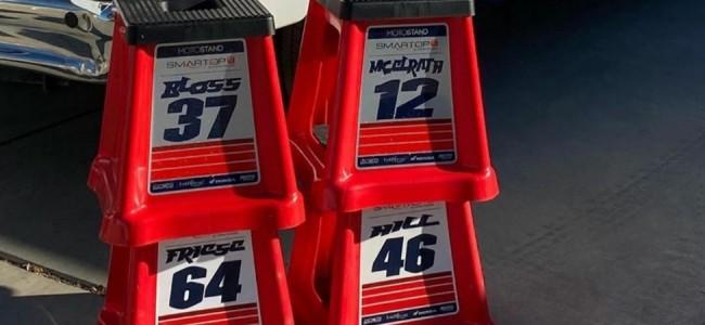 Team MotoConcepts met vier rijders aan de start