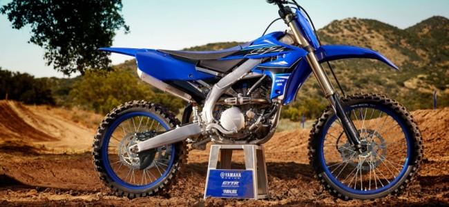 2021 prijzen Yamaha off-road modellen