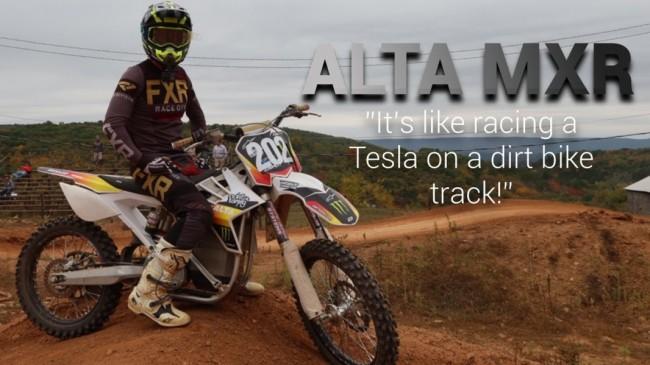 Video: Is de Alta E-bike sneller dan een normale 450cc machine?
