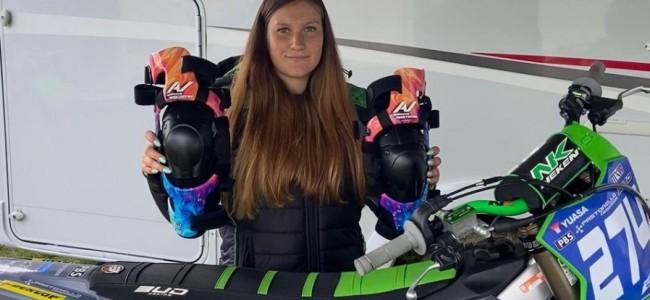 Amandine Verstappen test positief op Covid-19