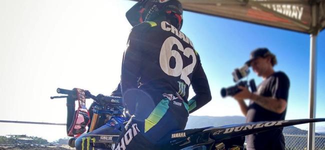 Christian Craig voor het eerst op de Star Racing Yamaha