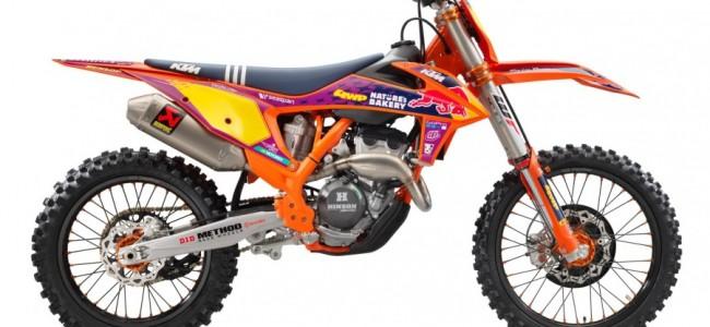 KTM presenteert KTM 250 SX-F Troy Lee Designs