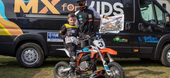 MX passie van vader op zoon, het verhaal van Jurre en Bjorn Berger