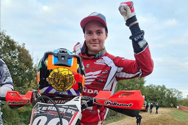 Nick Triest is Zwitsers kampioen!