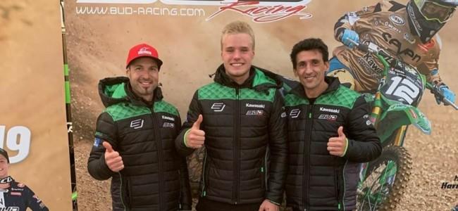 BUD Racing met Fredriksen en Prugnieres in EMX250