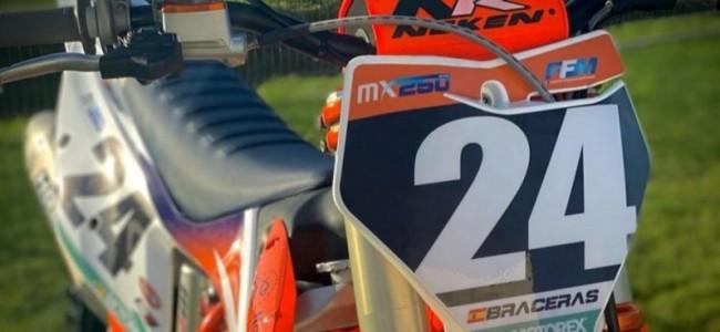 Braceras tekent Team VRT Nordpesca KTM