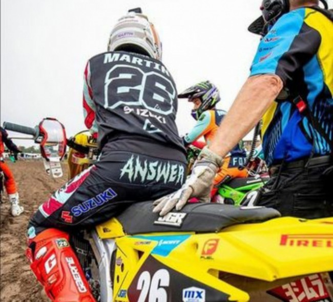 Alex Martin ook terug op een Yamaha!