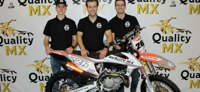 Quality MX Racing Team presenteert drie rijders!