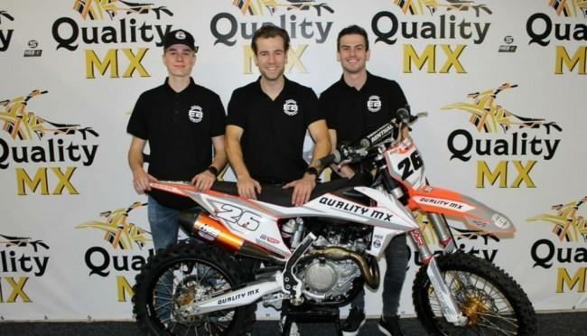 Quality MX Racing Team presenteert drie rijders!