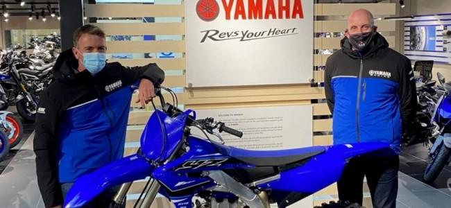 Caleb Screens wordt Yamaha UK team!