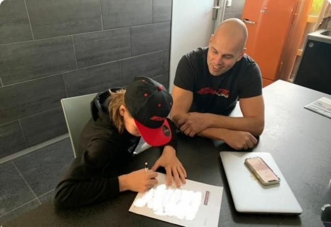 Joey Daneel tekent bij Fantic Motor Nederland!