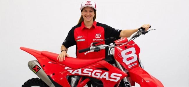 Kiara Fontanesi switcht naar GasGas