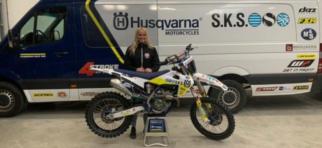 Lynn Valk terug op Husqvarna bij SKS Racing