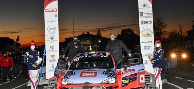 FOTO: Cairoli finisht als zesde in Tuscan Rewind 2020