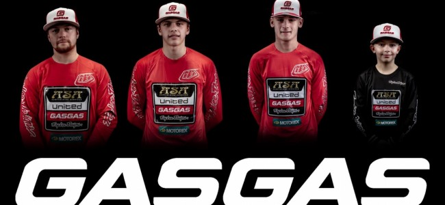 ASA United Team maakt overstap naar GasGas!