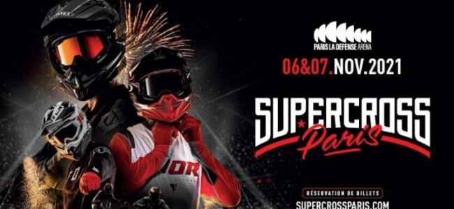 Supercross Paris heeft een datum voor 2021