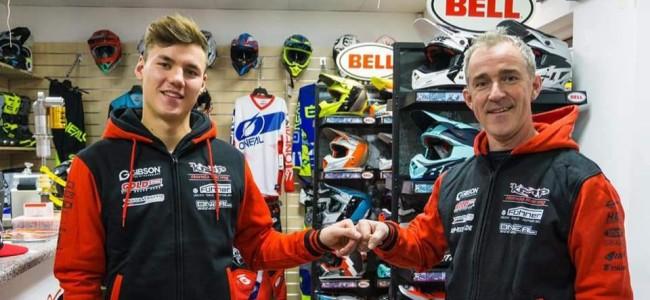 Haberland met KMP Honda Racing in het WK MX2
