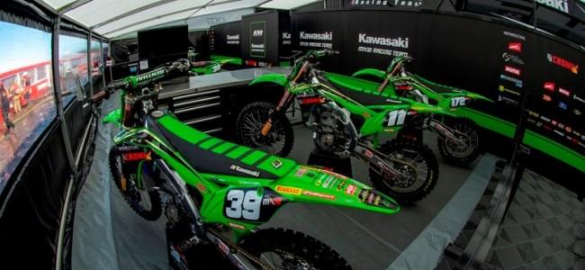 Geen wijzigingen bij F&H Kawasaki MX2 Racing Team
