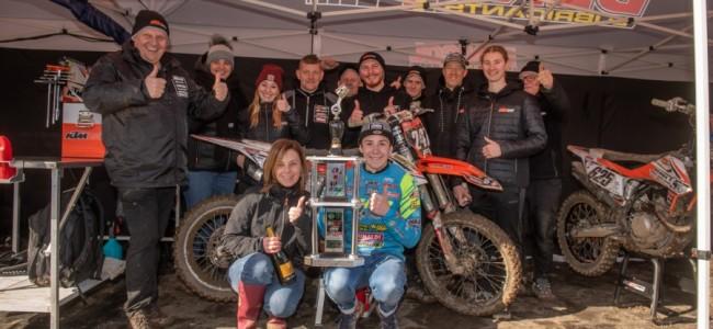 Doek valt voor KTM Diga Junior Racing!