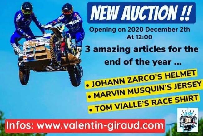 Veiling met unieke motorsport items voor Giraud
