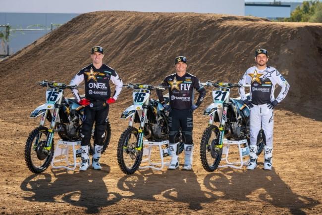 Gallery: Rockstar Energy Husqvarna Factory Racing Team 2021