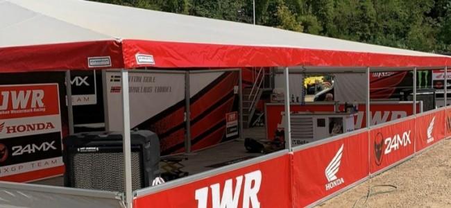 Miro Sihvonen in de MXGP met JWR-Honda