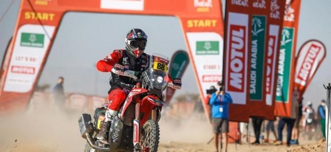 Dakar Rally: Honda slaat dubbelslag, KTM bijt in het zand