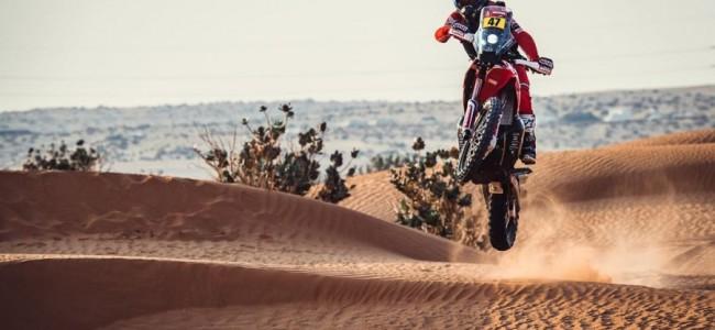 Dakar Rally: Benavides wint stage 5 ondanks een crash