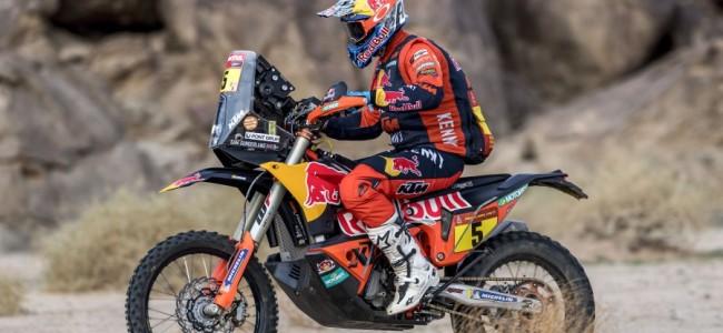Dakar Rally: Sunderland wint voorlaatste etappe
