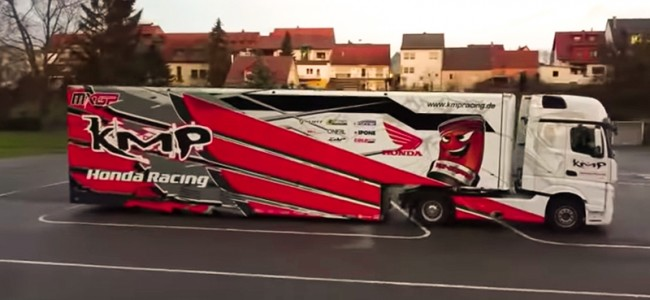 VIDEO: KMP-Honda presenteert nieuwe trailer