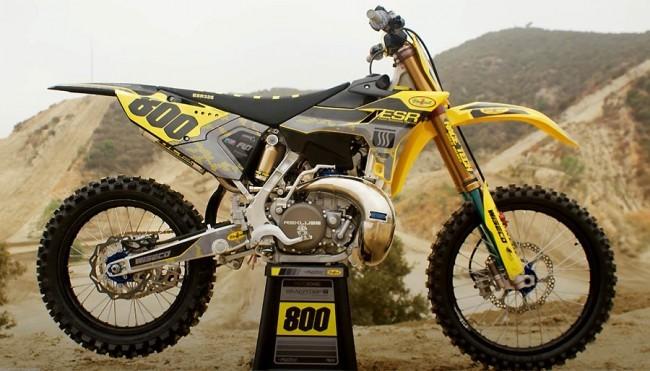 VIDEO de Yamaha YZ325 ESR van Mike Alessi
