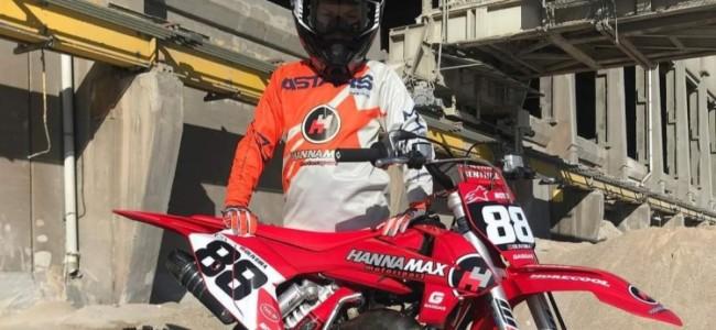 Tony Oliveira op een Hannamax-GasGas