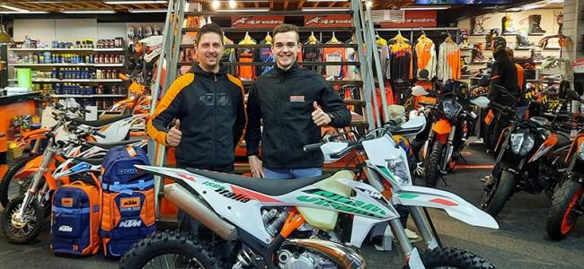 Kaiya Brouwer met steun van KTM Nederland, WP suspension en André Motors