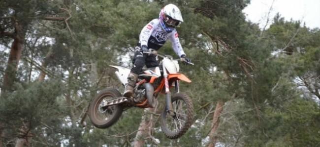 Jenairo Beerens bij RB-2Fast Junior Racing